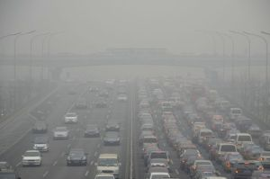 Extremely high pollution levels in China
