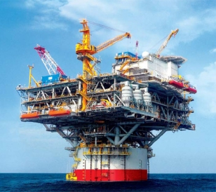 Offshore platform low ERoEI